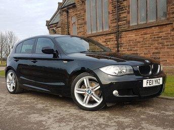 2011 BMW 1 SERIES 2.0 118D M SPORT 5d 141 BHP £7400.00
