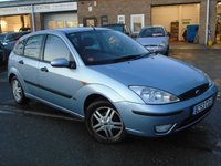 USED 2004 53 FORD FOCUS 1.6 ZETEC 5d 99 BHP GOOD VALUE HATCHBACK + NEW MOT