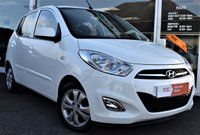 USED 2012 12 HYUNDAI I10 1.2 ACTIVE 5d 85 BHP £20 P/YEAR TAX LOW MILES