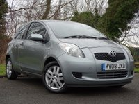 USED 2008 08 TOYOTA YARIS 1.0 TR 3d  ** GREAT VALUE * IDEAL FIRST CAR **