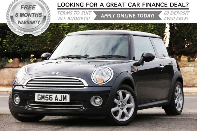 2008 56 MINI HATCH COOPER 1.6 COOPER 3d 118 BHP