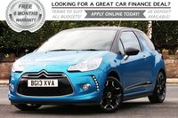 2013 CITROEN DS3 1.6 E-HDI DSTYLE PLUS 3d 90 BHP £6481.00