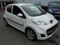 2011 PEUGEOT 107 1.0 ENVY 5d 68 BHP £4295.00