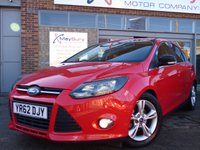USED 2012 FORD FOCUS 1.6 ZETEC 5d AUTO 124 BHP FULL FORD SERVICE HISTORY AUTOMATIC 5DR ZETEC MODEL