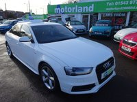USED 2012 12 AUDI A4 1.8 TFSI S LINE S/S 4d 168 BHP ***JUST ARRIVED...S-LINE***