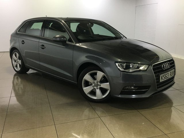 View our 2014 63 AUDI A3 2.0 TDI SPORT 5d 148 BHP