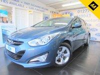2013 HYUNDAI I40 1.7 CRDI STYLE BLUE DRIVE 5d 134 BHP £8895.00