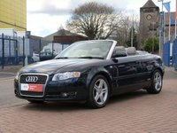 "USED 2007 07 AUDI A4 2.0 TDI 2d  FULL HISTORY ~ CRUISE CONTROL ~ BOSE SOUNDS ~ 17"" ALLOYS ~ PART LEATHER"