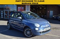 USED 2011 11 FIAT 500 1.2 C BY DIESEL 3d 99 BHP PART EXCHANGE TO CLEAR, SORRY NO WARRANTY OR AA INSPECTION, SOLD AS SEEN. In very good condition both inside and out however the air con does not get cold, heating works fine though. Sold at trade value. MOT until 26/10/2018, 2 keys, 5 service stamps, last service on 27/10/17 at 51398 miles.