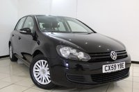 USED 2009 59 VOLKSWAGEN GOLF 1.4 S 5DR 79 BHP SERVICE HISTORY + PARKING SENSOR + AIR CONDITIONING + RADIO/CD + ELECTRIC WINDOWS