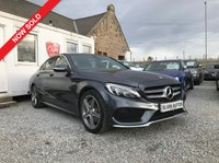 USED 2015 15 MERCEDES-BENZ C CLASS C250 BlueTEC AMG Line Auto 2.1 CDI ( 204 bhp ) One Owner From New