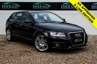 USED 2011 11 AUDI A3 2.0 SPORTBACK TDI S LINE 5d 138 BHP £0 DEPOSIT FINANCE AVAILABLE, S LINE HALF LEATHER UPHOLSTERY, S LINE TRIM, HEATED WING MIRRORS, CLIMATE CONTROL, AUDI CONCERT SYSTEM
