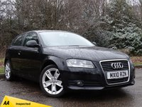 USED 2010 10 AUDI A3 1.6 MPI SPORT 3d 101 BHP * 128 POINT AA INSPECTED *