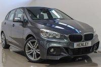 2017 BMW 2 SERIES 2.0 218D M SPORT ACTIVE TOURER 5d AUTO 148 BHP £19990.00