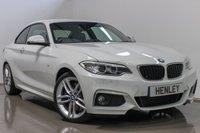 2017 BMW 2 SERIES 2.0 220D M SPORT 2d AUTO 188 BHP £22490.00
