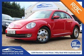 2012 VOLKSWAGEN BEETLE 2.0 DESIGN TDI DSG 3d AUTO 139 BHP £7950.00