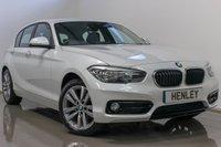 2017 BMW 1 SERIES 1.5 116D SPORT 5d AUTO 114 BHP £16990.00