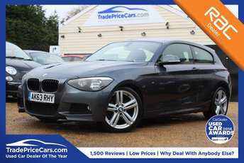 2013 BMW 1 SERIES 2.0 118D M SPORT 3d 141 BHP £10650.00