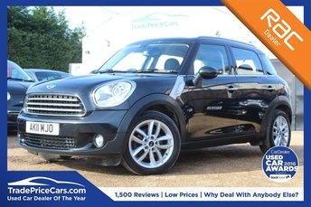 2011 MINI COUNTRYMAN 1.6 COOPER D 5d 112 BHP £7750.00