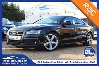 2011 AUDI A5 2.0 TDI QUATTRO S LINE 2d 168 BHP £11950.00