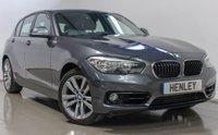 2017 BMW 1 SERIES 2.0 118D SPORT 5d 147 BHP £15490.00
