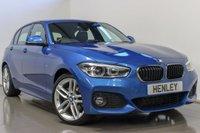 2017 BMW 1 SERIES 2.0 118D M SPORT 5d 147 BHP £16490.00