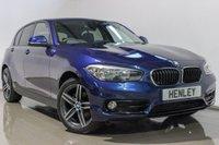 2017 BMW 1 SERIES 1.5 116D SPORT 5d 114 BHP £15490.00