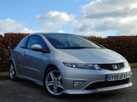 USED 2009 59 HONDA CIVIC 1.8 I-VTEC TYPE S GT 3d 12 MONTHS FREE AA MEMBERSHIP * ONLY 46,984 MILES *