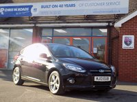 USED 2013 13 FORD FOCUS 1.6 ZETEC TDCI 5d 113 BHP *ONLY 9.9% APR*