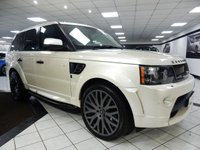 2012 LAND ROVER RANGE ROVER SPORT 3.0 SDV6 KHAN RS300 COSWORTH £29950.00