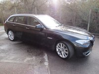 USED 2010 60 BMW 5 SERIES 3.0 530D SE TOURING 5d AUTO 242 BHP