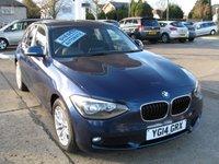 2014 BMW 1 SERIES 2.0 118D SE 5d AUTO 141 BHP £10995.00