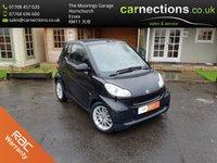 2010 SMART FORTWO CABRIO 1.0 PASSION MHD 2d AUTO 71 BHP £3495.00
