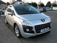 2011 PEUGEOT 3008 1.6 SPORT 5d 120 BHP £5995.00