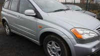 2006 SSANGYONG KYRON 2.0 S 4WD 5d 140 BHP £1350.00