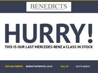 USED 2014 14 MERCEDES-BENZ A CLASS 1.6 A180 BLUEEFFICIENCY SPORT 5d 122 BHP