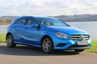 2014 MERCEDES-BENZ A CLASS 1.6 A180 BLUEEFFICIENCY SPORT 5d 122 BHP £12690.00