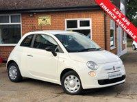 2015 FIAT 500 1.2 POP 3d 69 BHP £6495.00