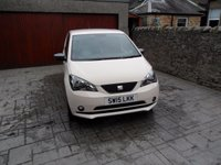 2015 SEAT MII 1.0 MII BY MANGO 5d 74 BHP £SOLD
