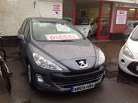 USED 2009 09 PEUGEOT 308 1.6 S HDI 5d 107 BHP Diesel, comfort, reliability, great value, superb.