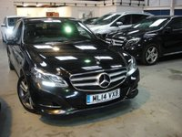 USED 2014 14 MERCEDES-BENZ E CLASS 2.1 E220 CDI SE 4d AUTO 168 BHP ANY PART EXCHANGE WELCOME, COUNTRY WIDE DELIVERY ARRANGED, HUGE SPEC
