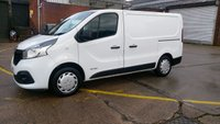 2014 RENAULT TRAFIC 1.6 SL27 BUSINESS PLUS ENERGY DCI S/R P/V 1d 120 BHP 1OWNER F/S/H 2 KEYS \ FREE 12 MONTHS WARRANTY COVER // £6490.00