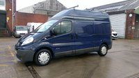 2012 RENAULT TRAFIC 2.0 LH29 DCI H/R 1d 115 BHP 1 OWNER 2 KEYS X LANARKSHIRE COUNCIL FULL IN HOUSE /S/H \ FREE 12 MONTHS WARRANTY COVER /// £SOLD