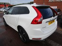 USED 2014 64 VOLVO XC60 2.4 D5 R-DESIGN LUX NAV AWD 5d AUTO 212 BHP ***BUY FOR ONLY £96 A WEEK £0  FINANCE