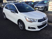 2013 CITROEN C4 1.6 HDI SELECTION 5d 115 BHP £6700.00