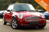 USED 2008 08 MINI CONVERTIBLE 1.6 ONE 2d 89 BHP