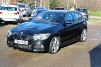 USED 2013 63 BMW 1 SERIES 2.0 120D M SPORT 5d 181 BHP