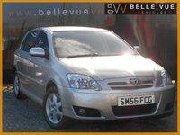 2007 TOYOTA COROLLA 1.6 T3 COLOUR COLLECTION VVT-I 5d AUTO 109 BHP £3995.00