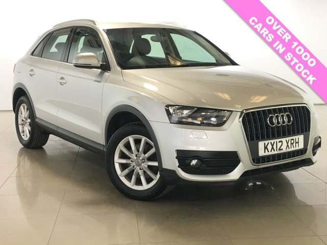 View our 2012 12 AUDI Q3 2.0 TDI QUATTRO SE 5d 175 BHP