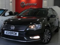 USED 2011 61 VOLKSWAGEN PASSAT ESTATE 2.0 TDI SPORT BLUEMOTION TECH 5d 140 S/S SAT NAV, BLUETOOTH PHONE & MUSIC STREAMING, FRONT & REAR PARKING SENSORS WITH DISPLAY, DAB RADIO, CRUISE CONTROL, LIGHT & RAN SENSORS WITH AUTO DIMMING REAR VIEW MIRROR, AUTO HILL HOLD, MDI INPUT FOR IPOD/USB DEVICES, AUX INPUT, 17 INCH MULTI SPOKE ALLOY WHEELS, LEATHER MULTI FUNCTION STEERING WHEEL, FULL SERVICE HISTORY, £30 ROAD TAX (120 G/KM)